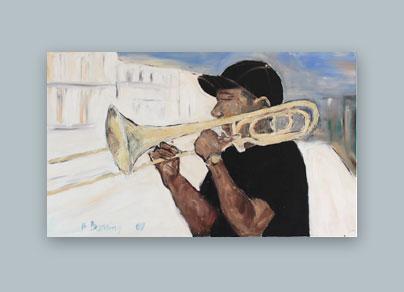 Kuba 2009 (100 x 60 cm, Öl auf Leinwand)